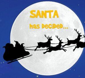 santa has decided
