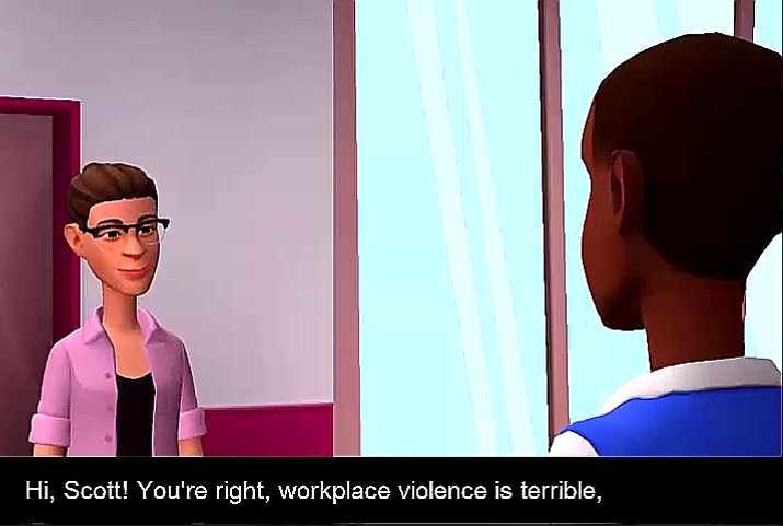 violence is terrible