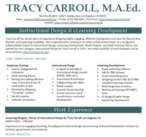 Instructional Designer Resume sample resume application analyst online instructional designer resume Instructional Designer E Learning Professional